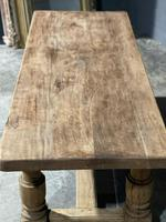 Rustic French Oak Farmhouse Kitchen Dining Table (15 of 16)