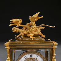 French 8 Day Striking Four Glass Ormolu Clock by Samuel Marti Paris, 19th Century (9 of 11)