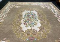 Superb Large 15x12ft Vintage Antique Indian Kayam Pure Woollen Thick Pile Rug (5 of 13)