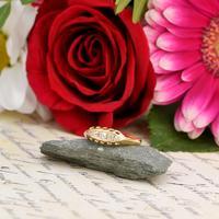 The Antique 1914 Bright Five Diamond Ring
