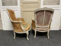 Pair of French Bergere Chairs Original Finish (8 of 14)
