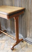 Oak Occasional Side Tea Table (2 of 9)