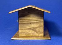 Victorian French Chestnut Dog Kennel Money Box (2 of 10)