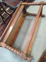 Victorian Oak Bench (2 of 3)