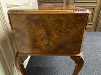 Pretty Quality Burr Walnut Dressing Table (16 of 17)