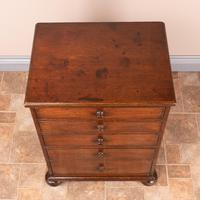 19th Century Small Mahogany Chest of Drawers with Extending Top (2 of 24)