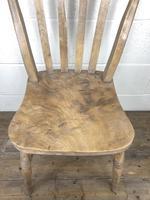 Set of Four Antique Farmhouse Kitchen Chairs (10 of 14)