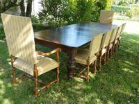 Victorian Oak Extending Table (3 of 7)