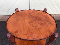 Burr Walnut Gallery Table (5 of 6)