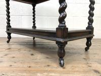 Antique Oak Three Tier Sideboard (11 of 12)