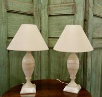 Pair of Art Deco Marble Table Lamps (4 of 5)
