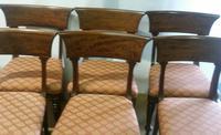 Set 6 George III Mahogany Trafalgar Chairs (3 of 6)