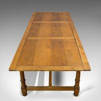Large, Antique Refectory Table, Scottish, 8 Seat, Oak, Dining, Victorian c.1870 (9 of 11)