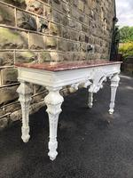Decorative Marble Top Console Table (8 of 8)