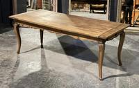 French Oak Farmhouse Kitchen Dining Table
