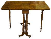 Victorian Walnut Sutherland Table c.1870 (4 of 7)