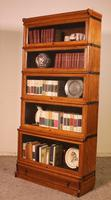 Globe Wernicke Bookcase Called Stacking Bookcase in Oak - 5 Items (4 of 9)