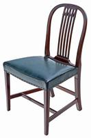 Set of 10 (8+2) mahogany dining chairs 19th Century (8 of 11)