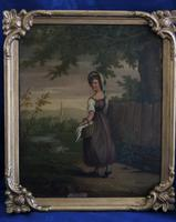 Fine Pair of 18th Century Paintings by J Hill (2 of 9)