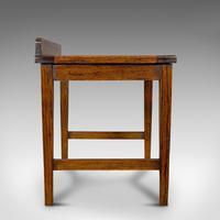 Antique Luggage Rack, English, Oak, Bedroom, Hallway, Stand, Edwardian c.1910 (6 of 10)