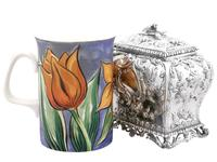 Sterling Silver Tea Caddy - Antique George III 1762 (3 of 12)
