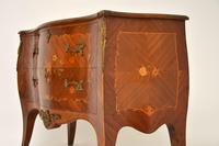 Antique French Inlaid Marquetry Bombe Chest (8 of 11)