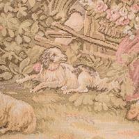 Antique Tapestry Panel, French, Framed, Needlepoint, Decorative, Edwardian, 1910 (8 of 10)
