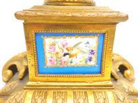 Wonderful Pair of Clock Garnitures Side Urns This Sevres Clock Garnitures (5 of 10)