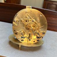 French Louis XVI Style Parcel-Gilt Bronze Mantel Clock (17 of 18)