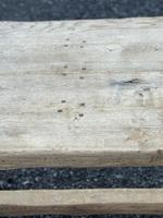 Large French Rustic Bleached Oak Farmhouse Dining Table (7 of 36)