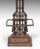 Finely Cast Mid 19th Century Cast Iron Hall / Stick Stand (2 of 5)