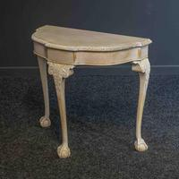 Bleached Walnut Side Table (3 of 6)