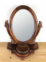 Small Victorian Mahogany Bedroom Swing Mirror (3 of 8)
