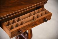 Antique Victorian Mahogany Games Table (7 of 12)