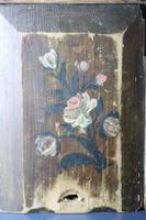 Scandinavian / Swedish 'Folk Art' Original Paint Rosmålning, Desk Timplåda / Sliding Lidded Box Gustavian, 1806 (4 of 16)