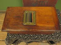 Antique Wooden Shop Till with Pull-out Drawer & Bell (8 of 14)