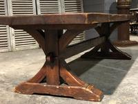 Huge Rustic Chestnut French Farmhouse Dining Table (13 of 27)