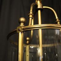 French Bronze Triple Light Antique Lantern (8 of 10)