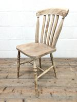 Set of Four Antique Farmhouse Dining Chairs (5 of 8)