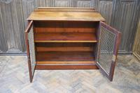Antique Mahogany Side Cabinet (6 of 9)