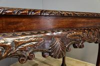 Carved Mahogany Side Table (2 of 7)
