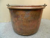 Large Copper Pot / Log Bin (4 of 6)