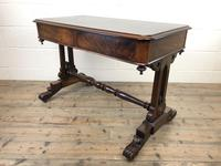 Antique William IV Mahogany Side Table (10 of 16)