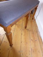 Scottish Rosewood Upholstered Stool (5 of 8)