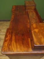 Antique Satin Birch Pedestal Desk by Heal & Sons (11 of 21)