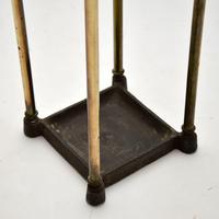 Antique Victorian Brass Umbrella Stand (4 of 7)