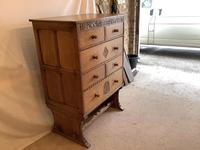 Norfolk Oak Chest on Stand (3 of 4)