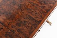 19th Century English Regency Burr Yew Sofa Table (5 of 10)