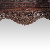 Antique Burmese Davenport (8 of 13)