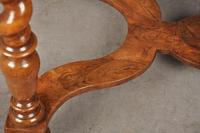 Rare 17th Century Olive Wood Oyster Side Table (8 of 14)